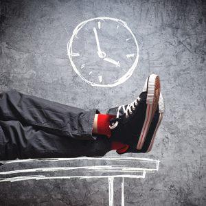 Arbeitszeit verchwenden